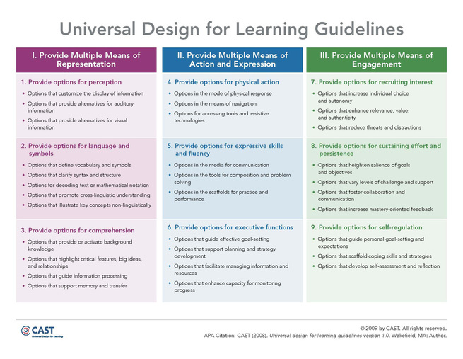 UDL, Accessibility, Copyright and Fair Use - Michaela Clarke